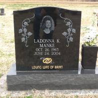 Personalized Single Monument with Photo