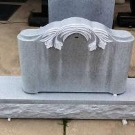 Beautiful Headstone with Detailin